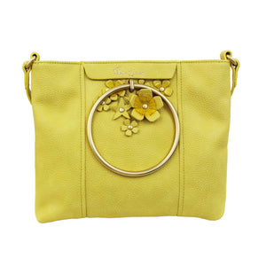 Lila Satchel in Lemon