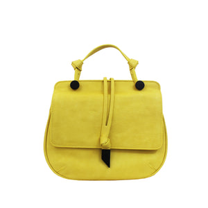 Dione Saddle Bag in Lemon