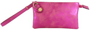 Prive Wristlet in Fuchsia