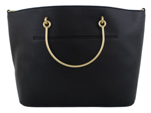 Harper Ring Tote in Black
