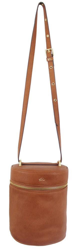 Garden Transport Shawn Crossbody in Cognac