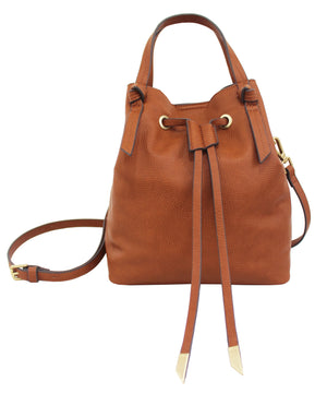 Garden Transport Jille Petite Satchel in Cognac