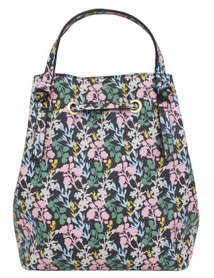 Garden Transport Jille Petite Satchel in Flower Print