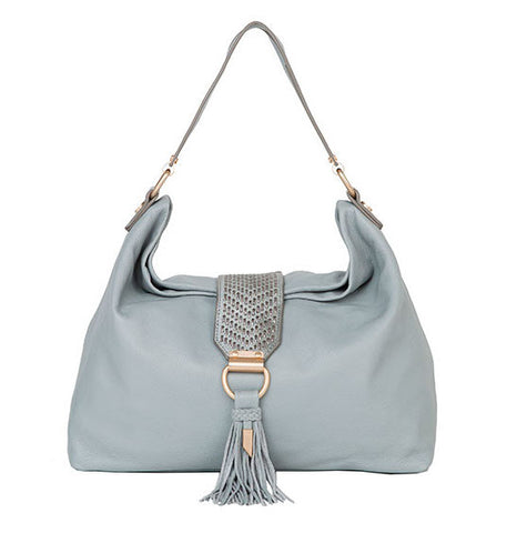 ELLA HOBO IN MISTY GREY