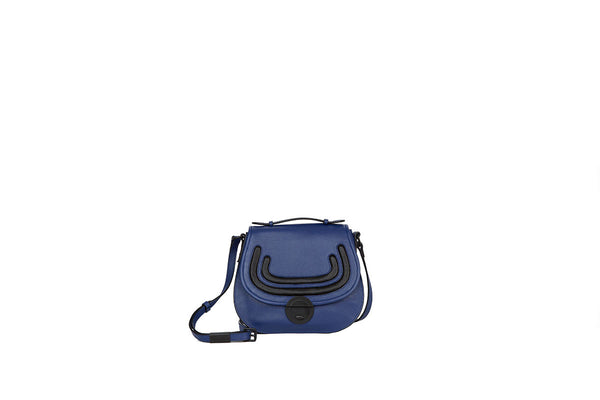 STEPHI SADDLE BAG IN MOON SHADOW