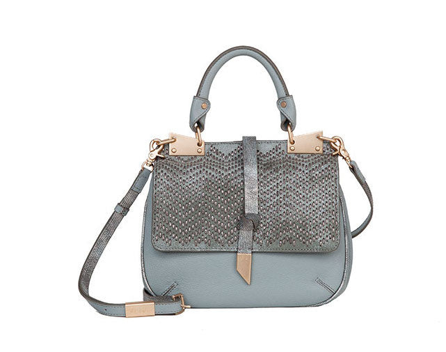 DIONE SADDLE BAG IN MISTY GREY