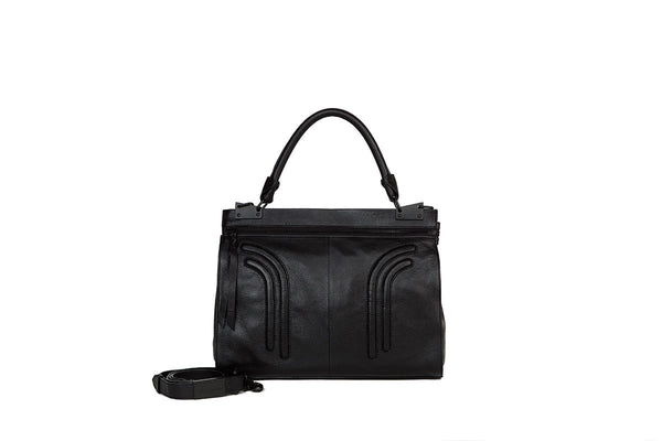 STEPHI MINI MESSENGER IN BLACK