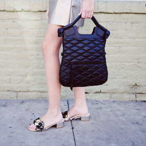 Zoe FC Lady Tote in Black