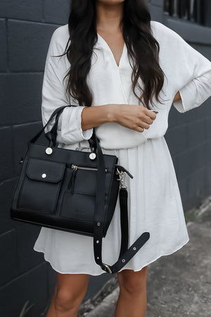 Anna Satchel in Black
