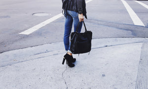 Stevie Tote in Black