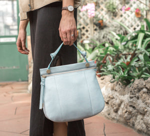 Rebel Satchel in Poplin Blue