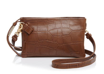 FC CACHE CROSSBODY IN OAK CROC