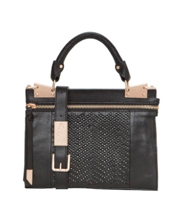 DARCY MINI MESSENGER IN BLACK
