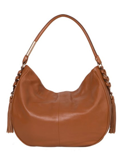 LA TRENZA HOBO IN HONEY BROWN