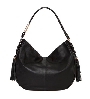 La Trenza Hobo in Black