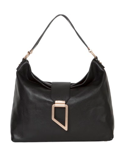 VALERIE HOBO IN BLACK