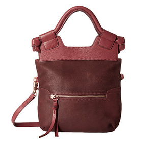 Disco City Crossbody in Bordeaux