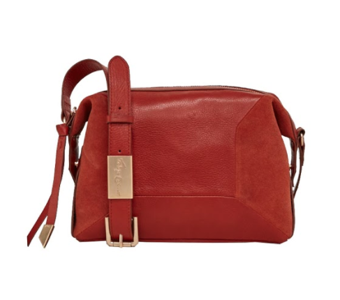 KATE LARGE CROSSBODY IN RUST