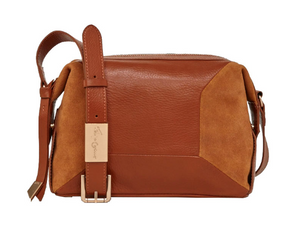 Kate Large Crossbody in Honey Brown