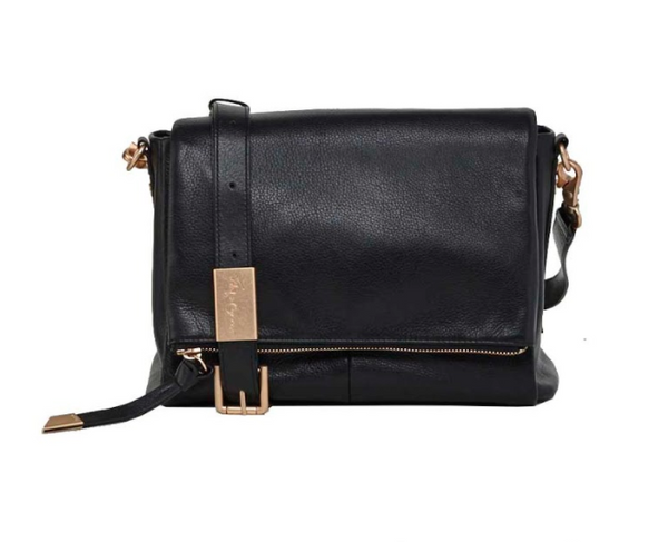 CHARLI MESSENGER IN BLACK