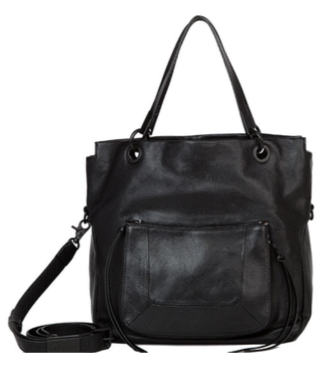 TONYA TOTE IN BLACK