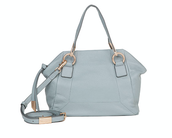 VELMA SATCHEL IN MISTY GREY