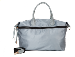 Expandable Weekender in Misty Grey