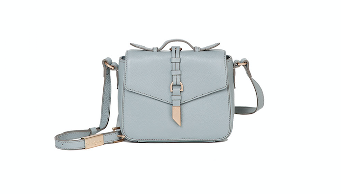 JULI CROSSBODY IN MISTY GREY