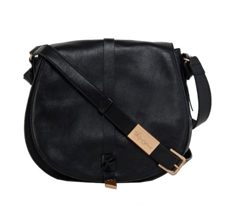 DAISY SADDLE BAG IN BLACK