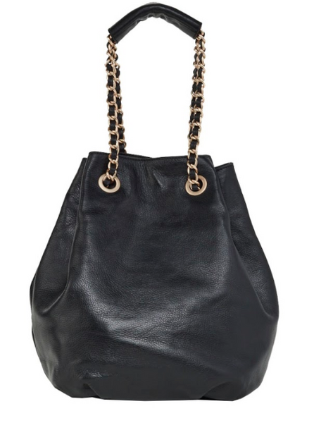 DAISY TOTE IN BLACK