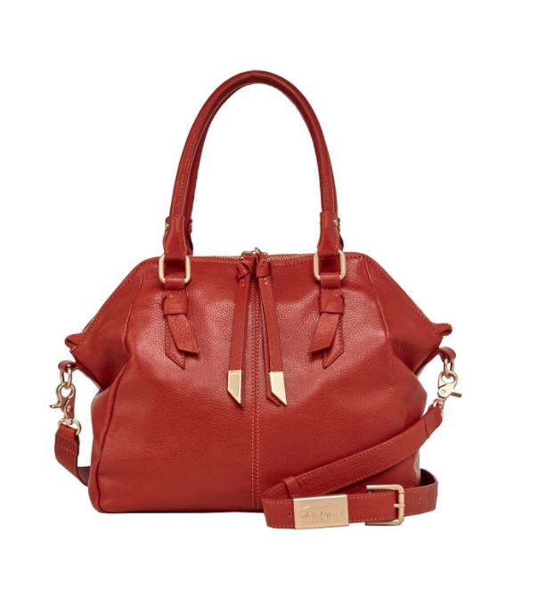 DAPHNE LARGE SATCHEL IN RUST