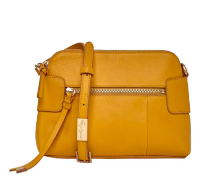 EMMA CROSSBODY IN MANGO TEA