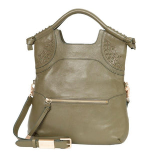 Stevie FC Lady Tote in Moss