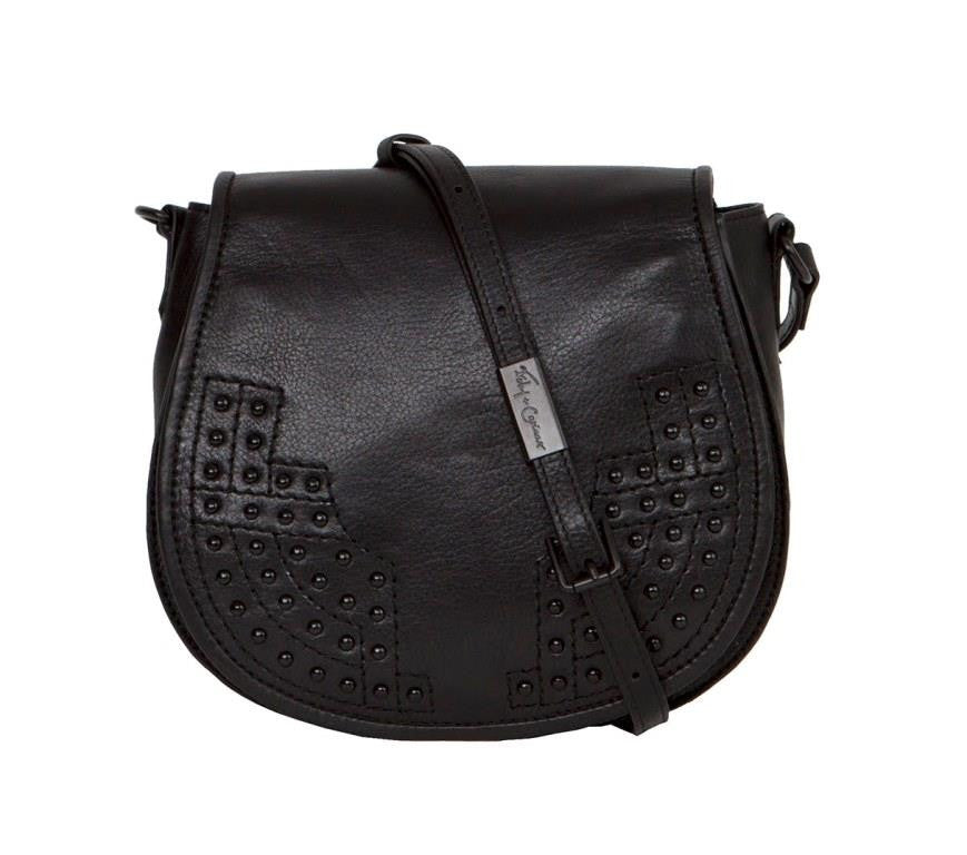 STEVIE SADDLE BAG IN BLACK