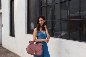 Brittany Satchel in Rosewood