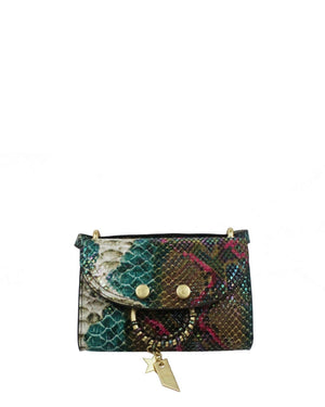 City Instincts Blake E/W Crossbody in Snake