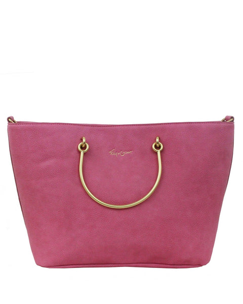 LIMELIGHT CITY RING TOTE IN ROSE