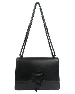 City Blooms Chain Crossbody in Black