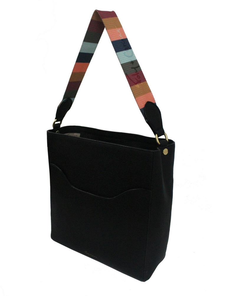 CITY BLOOMS TOTE IN TONAL STRAP IN MULTI