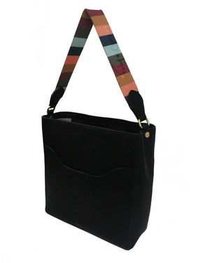 City Blooms Tote with Tonal Strap in Multi