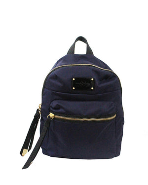 Fusion Nylon Backpack in Navy