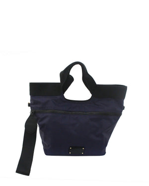 Fusion Nylon Tote in Navy