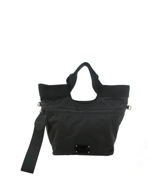 Fusion Nylon Tote in Black