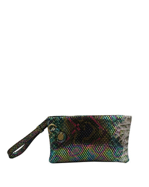 Prive Wristlet in Rainbow Snake