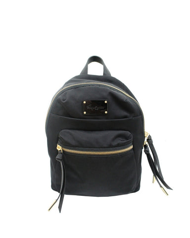 FUSION NYLON BACKPACK IN BLACK