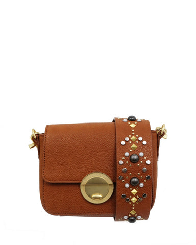 STARGAZER AVERY CROSSBODY IN HONEY BROWN