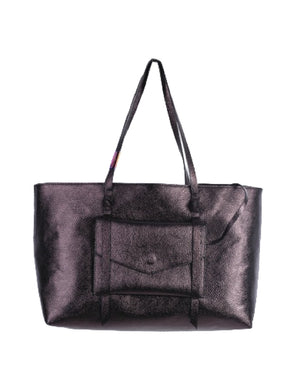 City Instincts Tote in Oil Slick