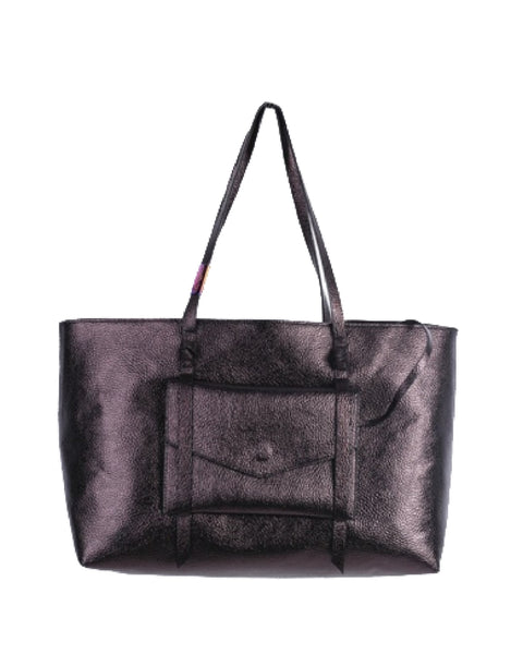 CITY INSTINCTS TOTE IN BLACK