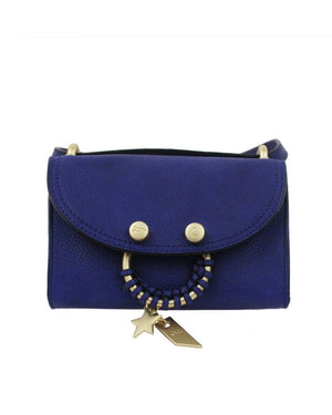 City Instincts Blake E/W Crossbody in Cobalt