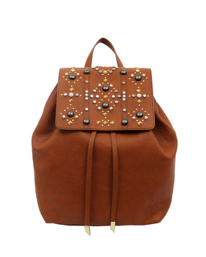 Stargazer Avery Backpack in Honey Brown
